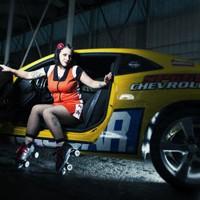 Camaro Harem Roller Derby team