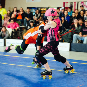 I'llya Smashya taking a hit as Jammer for the Pink Pistols, S7