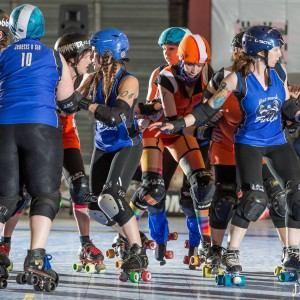 Camaro Harem Faces off against the Emerald City Flat Track Furies. Season 7